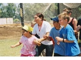 Palestinian and Israeli kids join together in a Christian camp